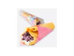 ファミリーマート ちゅら恋紅とレアチーズクリームのクレープ