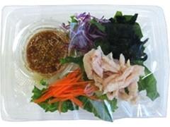 ファミリーマート 蒸し鶏のこんにゃく麺サラダ