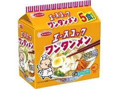 エースコック ワンタンメン 袋5食