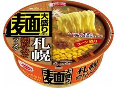 エースコック ご当地くいだおれ 麺大盛り 札幌濃厚みそラーメン コーン盛り カップ137g