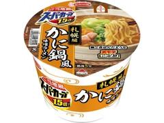 エースコック スーパーカップ1.5倍 ご当地鍋札幌編 かに鍋風味噌ラーメン カップ131g