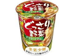 エースコック どっさり野菜 チリトマト味ラーメン カップ63g