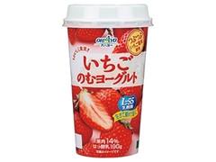 オハヨー おいしく果実 いちごのむヨーグルト カップ190g