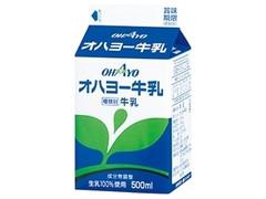 オハヨー オハヨー牛乳 パック500ml