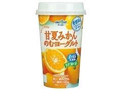 オハヨー おいしく果実 甘夏みかんのむヨーグルト カップ190g