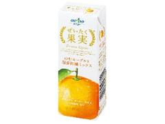 オハヨー ぜいたく果実 のむヨーグルト国産柑橘ミックス パック190g