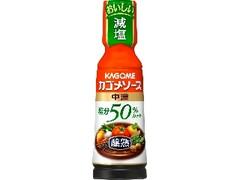 カゴメ 醸熟ソース 塩分50%カット 中濃 ボトル180ml