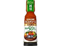 カゴメ 醸熟ソース 塩分50%カット とんかつ ボトル180ml