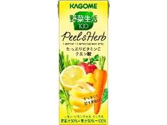 カゴメ 野菜生活100 Peel&Herb レモン・レモングラスミックス パック200ml