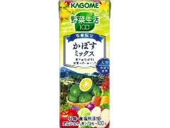 カゴメ 野菜生活100 かぼすミックス パック200ml