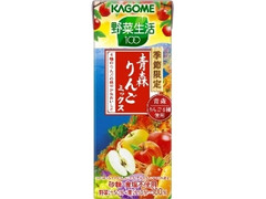 カゴメ 野菜生活100 青森りんごミックス パック195ml