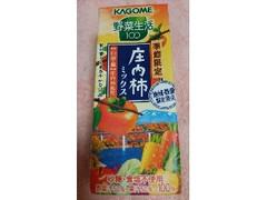 カゴメ 野菜生活100 庄内柿ミックス パック195ml