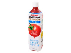 カゴメ カゴメトマトジュースプレミアム とれたてストレート 低塩 ペット720ml