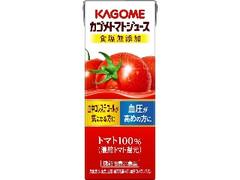 カゴメ カゴメトマトジュース 食塩無添加 パック200ml