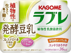 カゴメ ラブレ 発酵豆乳ミックス 80ml×3