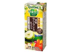 カゴメ 野菜生活100 追熟ラ・フランスミックス パック200ml