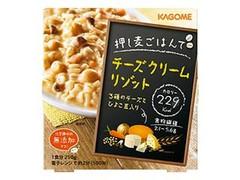 カゴメ 押し麦ごはんで チーズクリームリゾット 箱250g