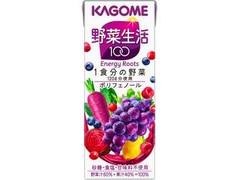 カゴメ 野菜生活100 エナジールーツ パック200ml