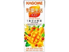 カゴメ 野菜生活100 フルーティーサラダ パック200ml