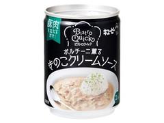 キユーピー ビストロクイック きのこクリームソース 缶245g