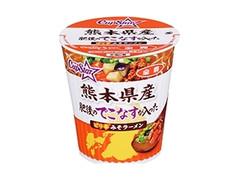 サッポロ一番×全農 カップスター 熊本県産肥後のでこなすが入ったピリ辛みそラーメン カップ66g