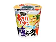 サッポロ一番 塩らーめん BESTレシピ あさりバター風 タテビッグ カップ91g