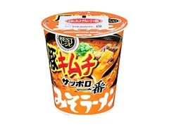 サッポロ一番 みそラーメン BESTレシピ 豚キムチ タテビッグ カップ95g