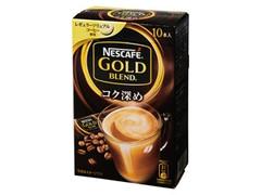 ネスカフェ ゴールドブレンド コク深め レギュラーソリュブルコーヒー 箱10本