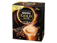 ネスカフェ ゴールドブレンド コク深め レギュラーソリュブルコーヒー 箱28本