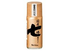 ハウス 国産七味唐がらし 瓶15g