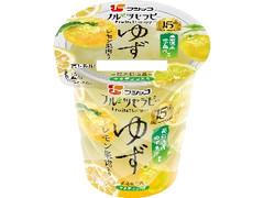 フジッコ フルーツセラピー ゆず レモン果肉入り カップ150g