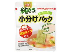 フジッコ 純とろ 小分けパック 袋10.8g