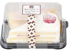 ローソン Uchi Cafe' SWEETS 苺のショートケーキ&スフレチーズケーキ