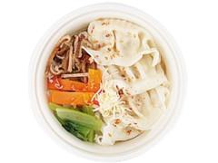 ローソン 6種野菜と餃子のスープ