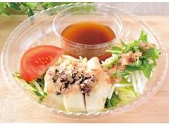 ローソン 蒸し鶏とシャキシャキ野菜の冷製パスタ