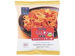 ローソン セレクト ベビースターラーメン9本麺スパイシーチキン味 袋62g