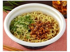 ローソン 黒胡麻仕立てのミニ担々麺