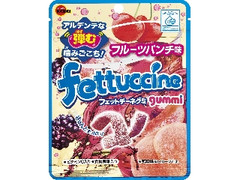 ブルボン フェットチーネグミ フルーツパンチ味 袋50g