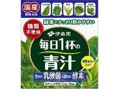 伊藤園 緑茶ですっきり飲みやすい毎日1杯の青汁 箱5.6g×20