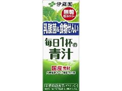 伊藤園 毎日1杯の青汁 無糖タイプ パック200ml