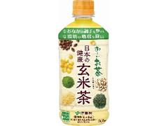 伊藤園 お~いお茶 日本の健康 玄米茶 ホット専用 ペット500ml