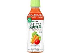 伊藤園 ヘルシープラス充実野菜 あらごし人参&りんご ペット265g