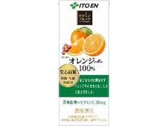 伊藤園 ビタミンフルーツ オレンジMix100% パック200ml