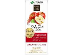 伊藤園 ビタミンフルーツ りんごMix100% パック200ml