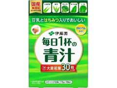 伊藤園 豆乳とはちみつ入りでおいしい毎日1杯の青汁 箱10包