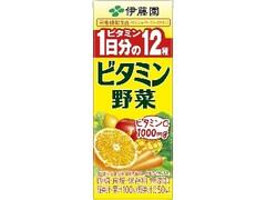 伊藤園 ビタミン野菜 パック200ml