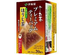 伊藤園 お~いお茶 プレミアムティーバッグ 一番茶入りほうじ茶 箱20袋