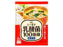 永谷園 シールド乳酸菌みそ汁 3食入 袋45.6g