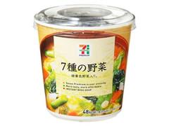 セブンプレミアム 7種の野菜 カップ26.5g