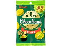 東ハト ハーベストチョコサンド 濃い抹茶 袋38g